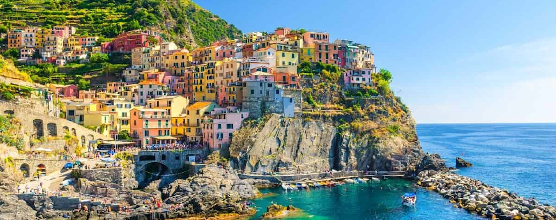 Amazing view of Manarola