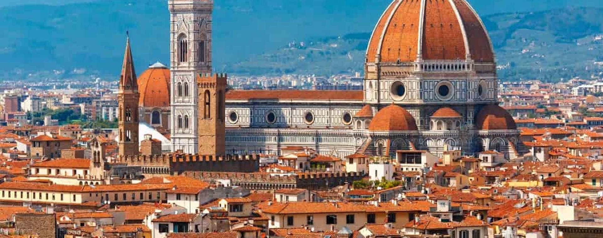 panoramic view of florence Cathedral