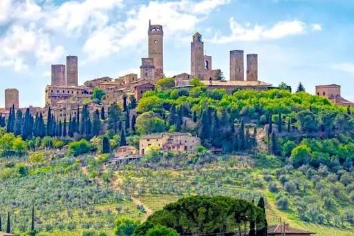 Beautiful view of San Gimignano
