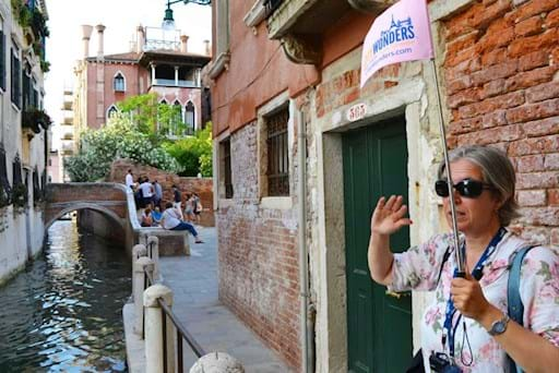 Guided tour around Venice