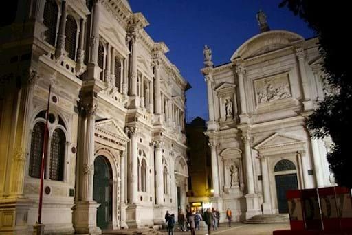 St Rocco school in Venice