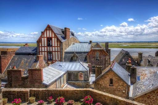 Village of Mont Saint Michel