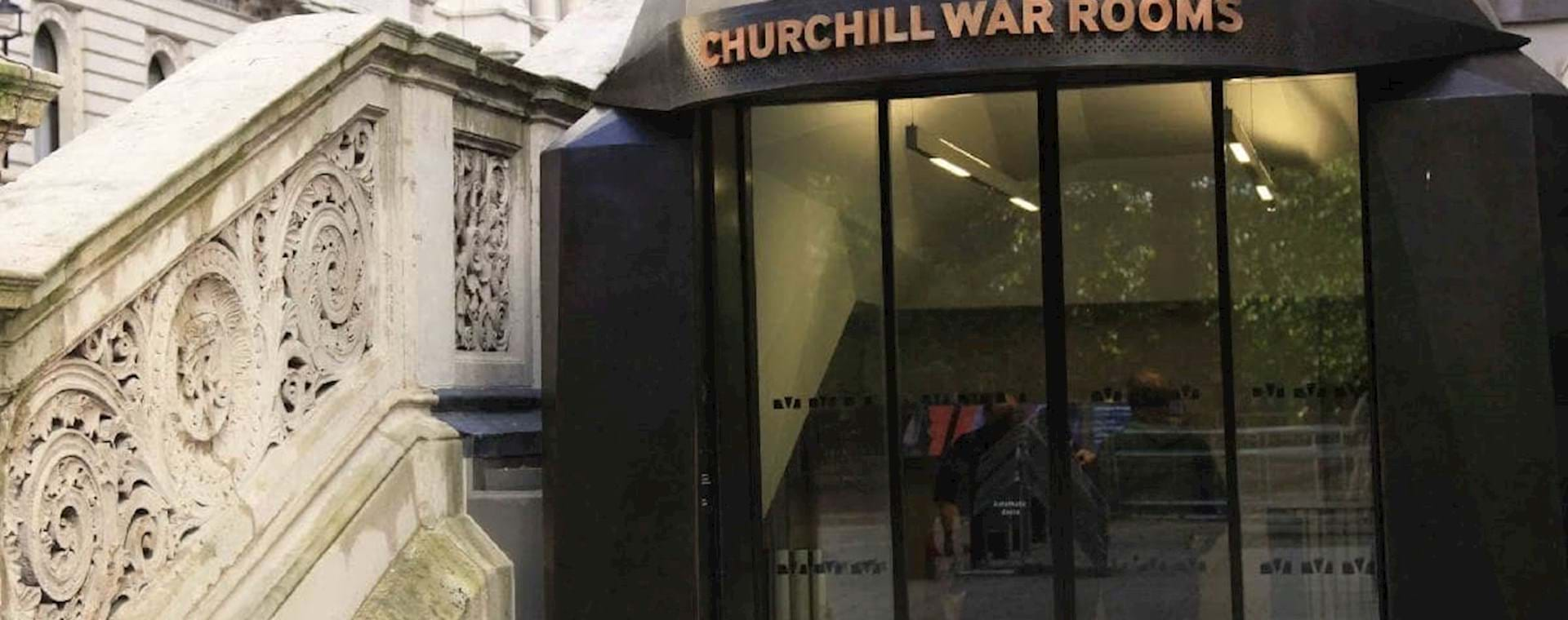 Entrance of the Churchill war room Museum
