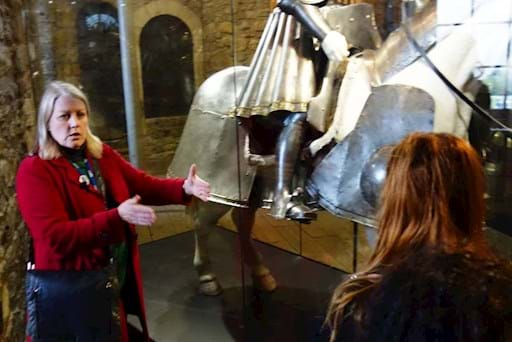 guided walking tour of the Tower of London