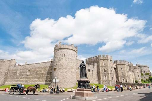 View of Windsor Castle from Outside