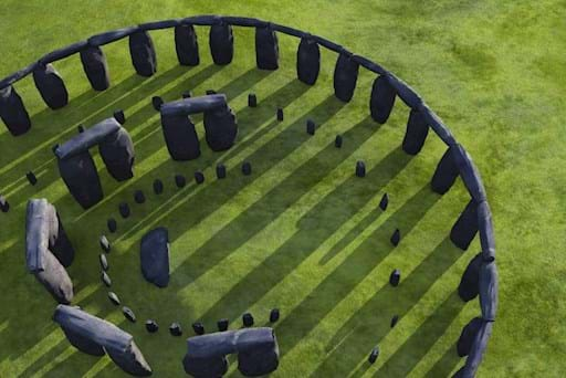 Areal View of Stonehenge