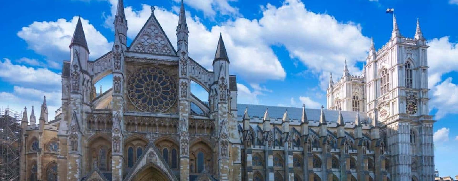 Beautiful view of Westminster Abbey
