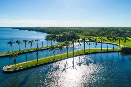 View of Deering Estate in Miami