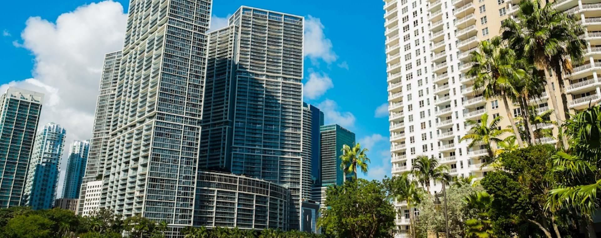 Walk path in Miami