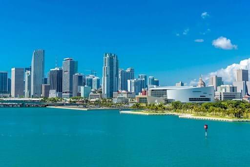 Skyline of Biscayne Bay, Miami