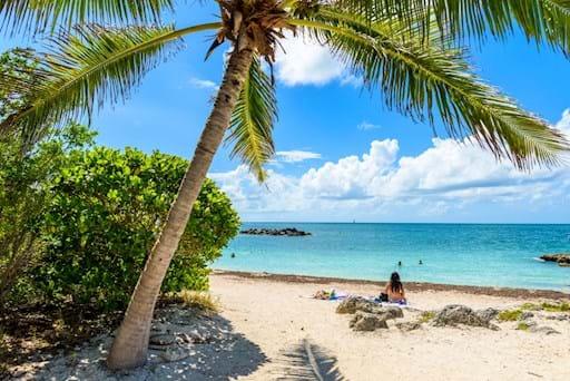 Amazing beach in Key West