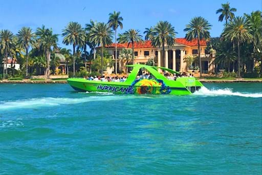 Hurricane speed boat