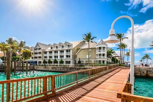 Wooden bridge in Key West