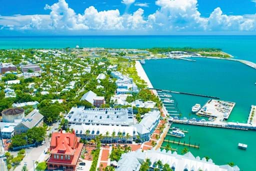 View of the Port in Key West