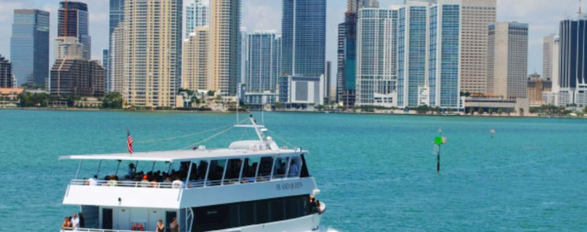 Boat trip in Miami