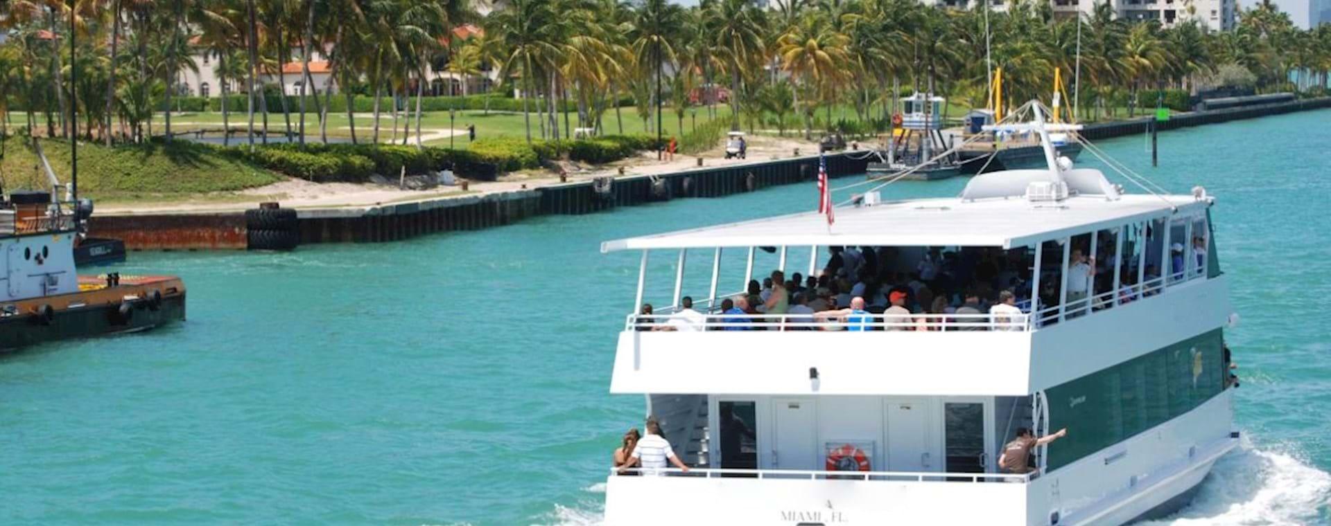Sailing to Fisher Island