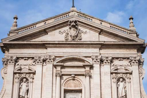 Top of the Basilica San Matino ai Monti, Rome