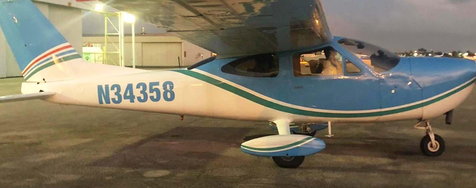 Magic tour plane
