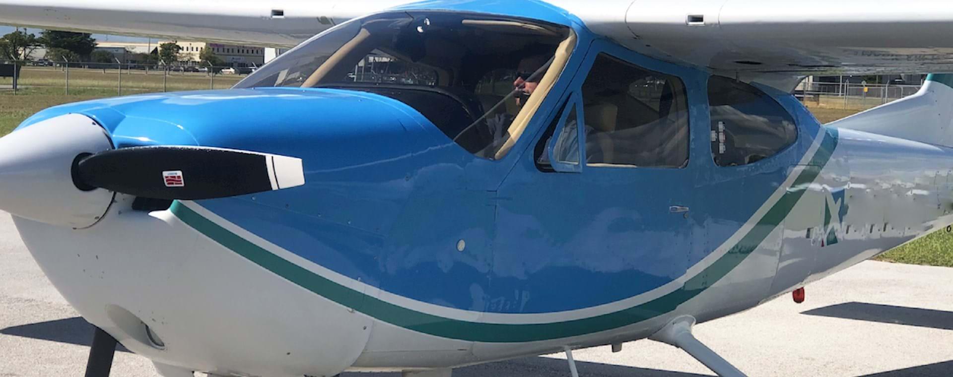 Plane tour over Miami