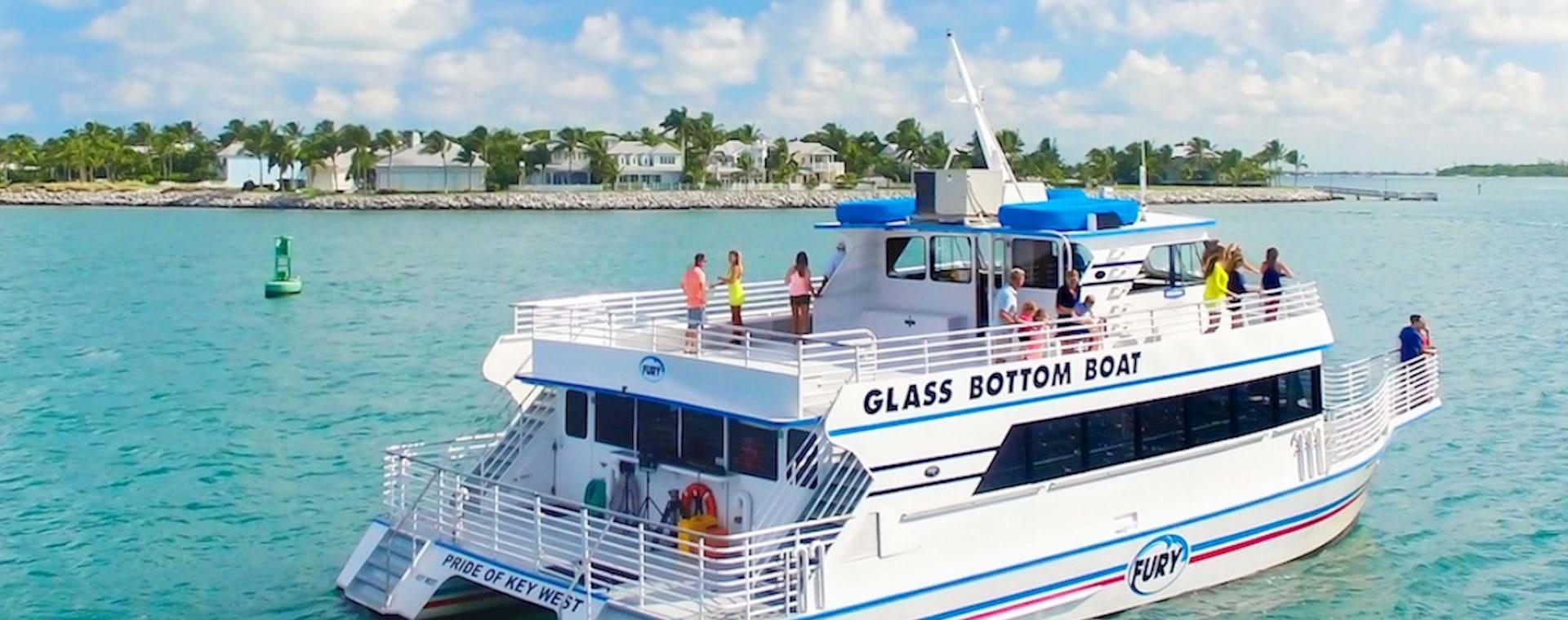 Cruise in the Ocean near Key West